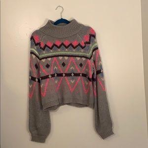 Moon & Madison Neon Sweater